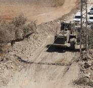 اغلاق طرق في الضفة الغربية