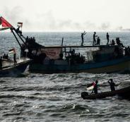 البحرية الاسرائيلية تعتقل صيادين في غزة