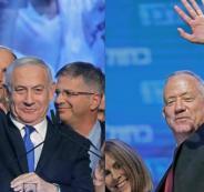 نتنياهو وغانتس وحكومة اسرائيلية جديدة