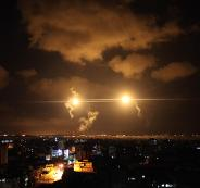 طائرات الـF16 الاسرائيلية تقصف عدة مواقع في قطاع غزة