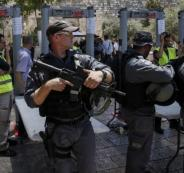 شرطة الاحتلال تفحص بدائل للبوابات الإلكترونية بالأقصى