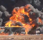 هجمات ضد القوات الامريكية في سوريا
