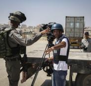 احتجاز صحفيين في الاغوار