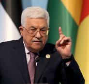 عباس يلتقي وزراء اسرائيليين
