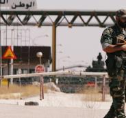 الحدود الاردنية السورية