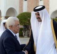 لقاء بين عباس وأمير قطر