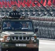 الرئيس الصيني والجيش