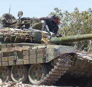 القتال في جنوب سوريا