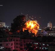اسرائيل تقصف مدارس فلسطينية في قطاع غزة