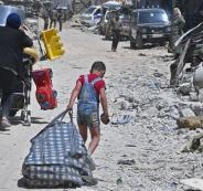 مخيم اليرموك وروسيا