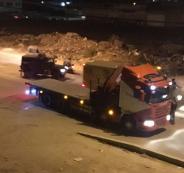 قوات الاحتلال تستولي على شاحنة ومركبة وأموال في جنين
