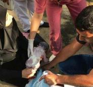 لبنانية تضع جنينها أمام مدخل المستشفى!