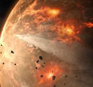 كويكب يقترب من الكرة الأرضية