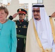 ميركل والسعودية