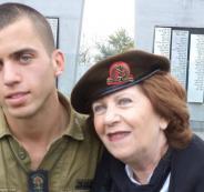 والدة الجندي الاسير شؤول ارون والسنوار