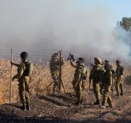 سقوط قذيفة صاروخية قرب موقع عسكري إسرائيلي بالجولان أطلقت من سوريا