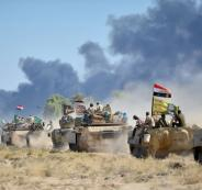 الجيش العراقي  ينسحب  من المدن