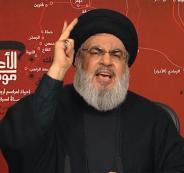 نصر الله والتظاهرات في لبنان