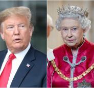 ترامب وحديقة ملكة بريطانيا