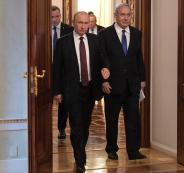 نتنياهو في روسيا