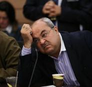 احمد طيبي وغانتس ونتنياهو
