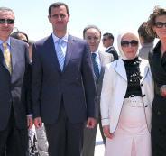 رسالة من اردوغان الى بشار الاسد
