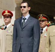 الأسد والتظاهرات في البلدان العربية