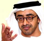 وزير الخارجية الاماراتي وقطر