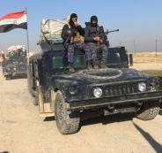 القوات العراقية وداعش في كركوك
