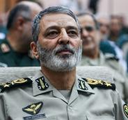 قائد الجيش الايراني واسرائيل