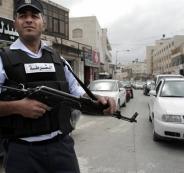 لشرطة والفنادف في رام الله