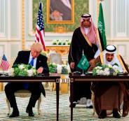 في تغريدة له اليوم على تويتر.. ترامب: عدت من الشرق الأوسط بـ وظائف وظائف وظائف
