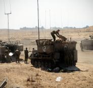 تدريبات عسكرية اسرائيلية في الاغوار