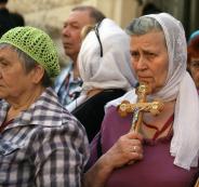 أعداد المسيحيين في فلسطين