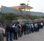 الحكومة الاسرائيلية تصادق على منع دخول الفلسطينيين المديونين