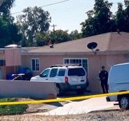 رجل قتل زوجته وثلاثة من ابناءه