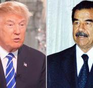 ايران وترامب وصدام حسين