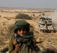 تدريبات عسكرية اسرائيلية في الجليل