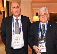 عباس في مباراة نهائي كأس العالم في روسيا