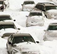العاصفة الثلجية في بريطانيا