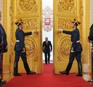 بوتين في الكرملين