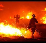 اسرائيل والحرائق