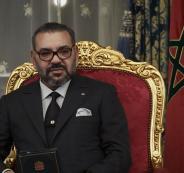 ملك المغرب وترامب