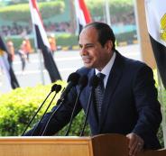 السيسي: مية مصر حياة أو موت لشعب
