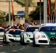 شرطة دبي وجاكي شان
