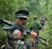 الجيش البورمي ومسلمي الروهينغيا