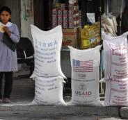 المساعدات الامريكية للاونروا