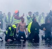 اعتقال المئات في فرنسا