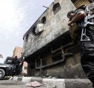 مقتل 14 شرطياً مصرياً باشتباك مسلح مع خلية إرهابية بصحراء الواحات