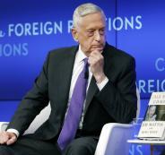 وزير الدفاع  الامريكي وترامب